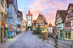 Hip, cool, medieval, historical – Germany is a lively cosmopolitan that is rich with culture and truly has it all. Alongside the bubbling and exciting big cities, Germany has picturesque small towns full of romance and beautiful scenery. Are you ready to explore... #adventure #europe #eurotrip
