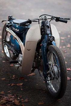 Scooter Motorcycle, Motorcycle Design, Honda Stream, Honda Dominator, Honda Cub, Mini Bike, Custom Bikes, Bobber, Super Bikes