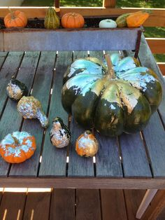 DIY Gold Leaf Pumpkin