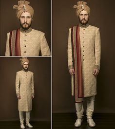 #PuneetandNidhi offers perfect ensembles for wedding sherwani for men in #Noida #Delhi #Ncr #India. #MenSherwani #WeddingSherwani #Groomswear Contact us : Mobile No. 9350301018 Email:- designlablotus@gmail.com http://puneetandnidhi.com/