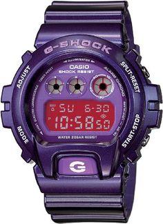 Casio Men's DW6900CC-6 G-Shock Metallic Purple Digital Sport WatchDW6900CC-6 Casio http://www.amazon.com/dp/B00284ADDA/ref=cm_sw_r_pi_dp_o9Rtub06ACW30