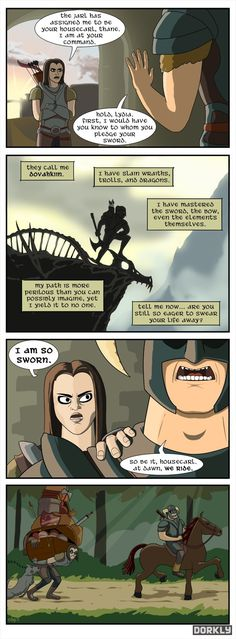 The Glorious Life of a Skyrim Companion By Owen Parsons and Brian Murphy