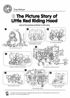 little red riding hood story and activities