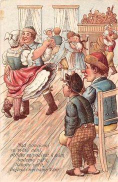 Nad posviceni ve svete neni Village Dance 1906 Illustration, Painting, Art, Dance, Art Background, Painting Art, Kunst, Paintings, Illustrations
