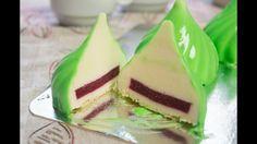 Муссовое пирожное Мусс на белом шоколаде и малиновое компоте - YouTube