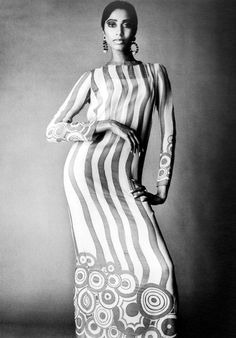 Donyale Luna  (January 1, 1945 - May 17, 1979) was the first notable African American fashion model and the first black cover girl. She also appeared in several films, most notably as the title role in Salome.