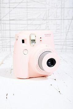 Fujifilm Instax Mini 8 Camera in Pink - Urban Outfitters #Pastel ☮k☮