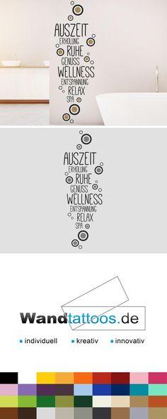 24 besten Badezimmer Wandtattoo Wörter Bilder auf Pinterest | Colors ...