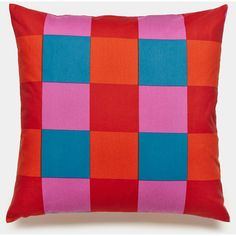 Unison Buffalo Rainbow Throw Pillows ($24) ❤ liked on Polyvore featuring home, home decor, throw pillows and pillows