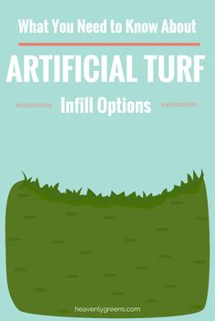 What You Must Know About Artificial Turf Infill Options http://www.heavenlygreens.com/blog/what-you-must-know-about-artificial-turf-infill-options @heavenlygreens
