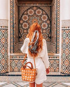 - 📍 Marrakech, Morocco - 📸 by Travelista Marrakech Travel, Morocco Travel, Alexis May, Photography Poses, Travel Photography, Travel Pose, Travel Photos, Morocco Fashion, Poses Photo