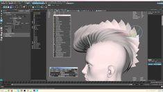 hairGrabber tutorial - A helper tool for authoring hair cards for game assets. https://www.creativecrash.com/maya/script/hair-grabber