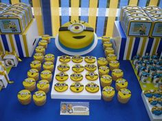 Despicable Me / Minions Birthday Party Ideas | Photo 4 of 27 | Catch My Party