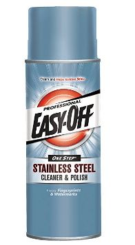 Professional Easy-OFF Stainless Steel (Silver) Cleaner and Polish Liquid 17 -ounce Aerosol Can (Cleaning Accessory) (Metal) Clean Stainless Steel Grill, Stainless Steel Cleaner, How To Clean Bbq, Clean Grill, Best Gas Grills, Best Charcoal Grill, Seasoning Cast Iron, Portable Grill, Cleaning Chemicals