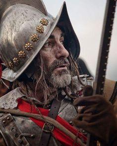 Battle of Groll, 1627 (reenactment). Helmet Armor, Arm Armor, Conquistador, Fantasy Armor, Medieval Fantasy, Thirty Years' War, Armor Clothing, Armadura Medieval, Landsknecht