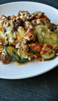 a kitchen cafe: Zucchini Lasagna