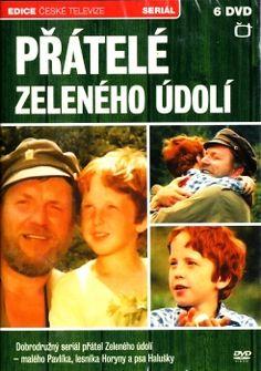 Televizní seriál z Edice České televize Přátelé zeleného údolí na DVD.