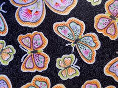 BLACK FRIDAY Sale: Fabric Butterfly Kisses from