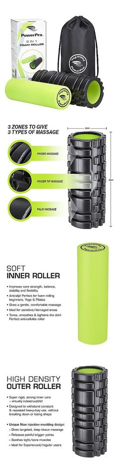 Foam Rollers 179800: Powerpro Foam Rollers Best Quality Available! *Unique Targeted Massage For P... BUY IT NOW ONLY: $30.36