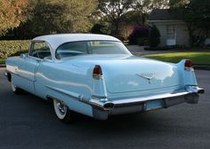 1956 Cadillac Coupe Deville #ClassicCars #CTins #ad