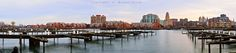 Wide view of Buffalo's Waterfront, Buffalo, NY: Being outdoors is the best part of landscape photography for me. Whether it's at sunrise or sunset, day or night, summer or winter, it's always great to be there and witness whatever Mother Nature prepared for the occasion. That sentiment often leads to photos ... This photo was created from 10 vertical photos stitched together into a 122 megapixel panorama  #etbtsy #buffalony #buffalove #716