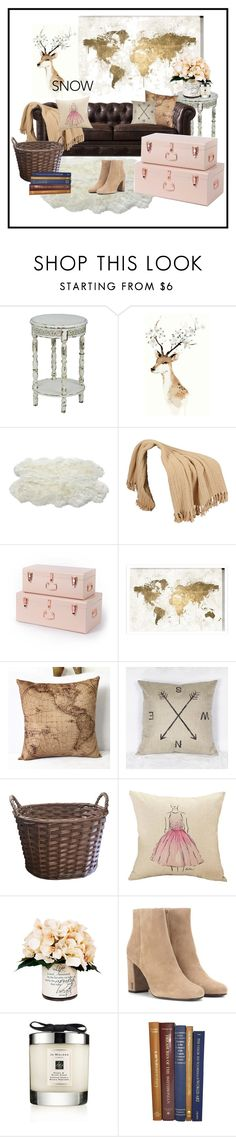 """""""when the weather outside is frightful:D"""" by oliviiamaya ❤ liked on Polyvore featuring interior, interiors, interior design, home, home decor, interior decorating, Oliver Gal Artist Co., Creative Displays, Yves Saint Laurent and Jo Malone"""