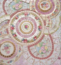 SOLD !!!! Finished Side Table Top by Viktoria's Shabby Cottage, via Flickr