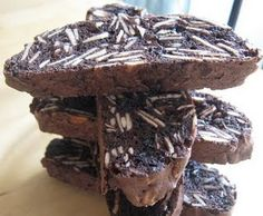 Chocolate Almond Biscotti (kosher)