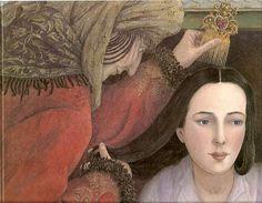Blanca Nieves Blancanieves es un antiguo cuento popular de origen alemán. Fue recopilado por Jacob y Wilhelm Grimm, e integró su volumen de los Kinder-und Hausmärchen (Cuentos para los niños y el hogar) publicado por primera vez en 1812. Angela Barret
