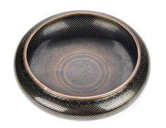 Periodo Qing-Republica, China, inicio S. XX, gran incensario en bronce cloisonne