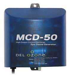Spa and Hot Tub Parts 181075: Del Ozone Mcd-50 Universal Voltage Ozone Generator For Portable Spa Hot Tub -> BUY IT NOW ONLY: $99.69 on eBay!