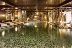 24 Hotels With Spectacular Indoor Pools Inspired by the ancient Roman baths, indoor swimming pools have become common hotel features, social hubs and even architectural wonders. Indoor Pools, Pool Spa, Hotel Pool, Luxury Swimming Pools, Luxury Pools, Moderne Pools, Hotels, Best Spa, Snuggles
