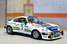 Fly Car Model A963 (88153). Porsche 911 SC. Rally El Corte Inglés 1982. Beny Fernández-José Luis Sala. #slotcar