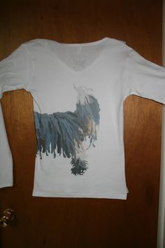 """The side and back of my """"Limited Edition"""" shirt (fundraiser for animal rescue)."""