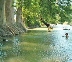 The swimming hole... we all love.