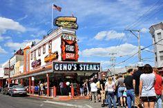 Geno's Steaks in South Philadelphia