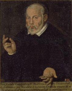 Luis Collado (Valencia, 1520 🇪🇸 Valencia 1589). Discípulo de Vesalio. Cátedra en Valencia de Anatomía. En su libro de comentarios sobre De Ossibus di Galeni de 1555 menciona por primera vez el hueso estibo al que dio ese nombre.