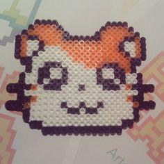 Hamtaro hama beads by hamasamabeads