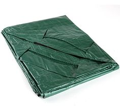 Shefko 0-99393-10606-2/6X6 Yard Tarp 6 X 6 - Versatile Drawstring Tarp For Yard Clean Ups - Convenient And Handy - Formed Into An Instant Dragging Bag - Also Idea As BBQ Grill, Lawn Mowers And Outdoors Furniture Cover - [HOME & GARDEN]