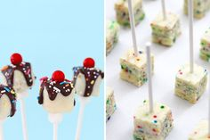 Funfetti Cheesecake Pops | 100 Things You Can Eat On A Stick