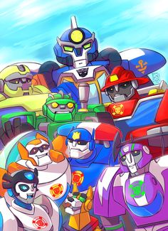AHHHHHHHHHHHHHHHHH! IT'S ALL MY BABIES IN ONE PICTURE!!! I LOVE THIS AND THE SHOW SO MUCH!!!!❤❤❤I JUST LOVE HOW IT CONSISTS OF HEATWAVE, BLADES, SALVAGE, BOULDER, CHASE❤❤, BLURR❤, QUICKSHADOW❤, HIGHTIDE, AND SERVO!!!! *VIOLENTLY SCREAMS IN PILLOW* I REALLY NEEDED THIS CUTE PICTURE!!❤❤❤❤❤ ~Dangergirl64