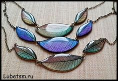 30 Ideas For Jewerly Diy Ideas Link – epoxy resin DIY Leaf Jewelry, Resin Jewelry, Jewellery, Resin Necklace, Diy Necklace, Resin Crafts, Resin Art, Eco Resin, Leaf Skeleton