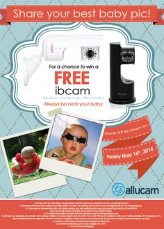 IBCAM Baby Monitor Giveaway - Giveaway Promote Open to: United States, Canada  Ending on: 05/16/2014
