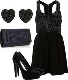 So cute for a nice date or a night at the club, the possibilites are kind of endless for this dress.