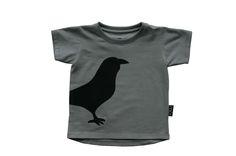 Bird T-shirt / Grey