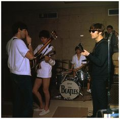 The Beatles in Miami, at the Deauville Hotel (February, 1964)