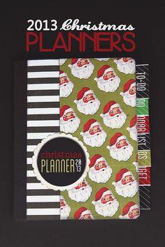 Christmas Planners free printable