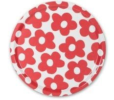 Malin Westberg, Blomma Red trays now in the sale at Northlight Homestore