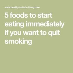 5 foods to start eating immediately if you want to quit smoking Vaping To Quit Smoking, Help Quit Smoking, Quitting Cigarettes, Lung Cleanse, Quit Smoking Motivation, After Quitting Smoking, Smoke Tricks, Smoking Addiction, Addiction Alcohol