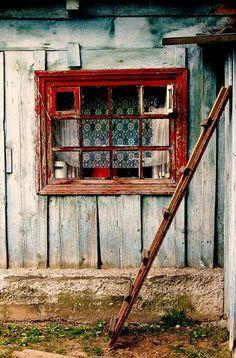 Red window.